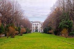 Национальные архивы, парк Cismigiu, Бухарест стоковое фото rf