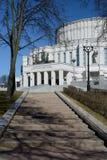 Национальный академичный театр оперы и балета Беларуси в Минске стоковое фото rf