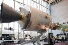 Национальный воздух и музей космоса смитсоновского заведения стоковые изображения rf