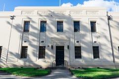 Национальный гербарий здания Виктории в королевских ботанических садах в Мельбурне стоковое изображение rf
