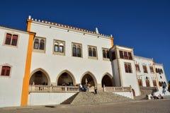 Национальный дворец Sintra стоковые изображения rf
