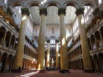 Национальный интерьер музея Bulding в DC Вашингтона Стоковое Изображение RF