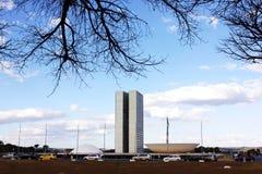 Национальный конгресс Бразилии стоковое изображение rf