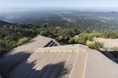 Национальный лес Калифорния Анджелеса лестниц Mtn отголоска стоковые фото