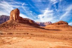 Национальный монумент Аризона скал мраморных Buttes каньона Vermillion стоковое изображение