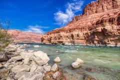 Национальный монумент скал Аризоны мраморного каньона Vermillion около страницы AZ стоковая фотография