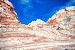 Национальный монумент скал размывания утеса Vermillion, Аризона стоковые изображения rf