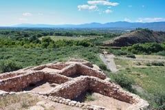 Национальный монумент Tuzigoot стоковые фотографии rf