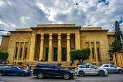 Национальный музей 01 Бейрута стоковое фото