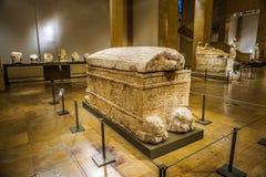 Национальный музей 20 Бейрута стоковое изображение rf