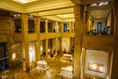 Национальный музей 29 Бейрута стоковая фотография