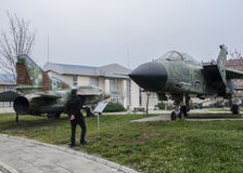 Национальный музей военной истории Софии, Болгарии стоковые фотографии rf