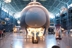 Национальный музей воздуха & космоса стоковые изображения rf