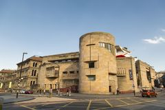 Национальный музей Шотландии стоковая фотография rf
