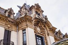 Национальный музей George Enescu в Бухаресте стоковая фотография