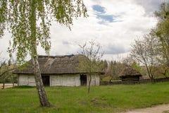 Национальный музей Pirogovo в outdoors около Киева стоковое фото