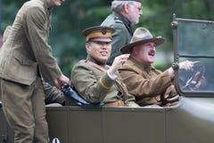 Национальный парад Дня памяти погибших в войнах стоковое изображение