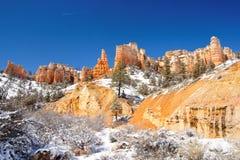 национальный парк горного склона bryce стоковые изображения rf
