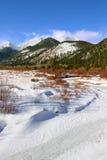 национальный парк горы утесистый Стоковые Изображения RF