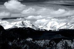 национальный парк горы утесистый Стоковое Изображение RF