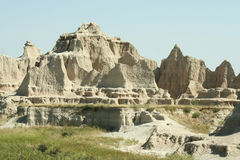 национальный парк Дакоты неплодородных почв южный стоковые изображения