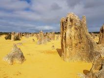 Национальный парк западная Австралия Nambung пустыни башенкы стоковое изображение rf