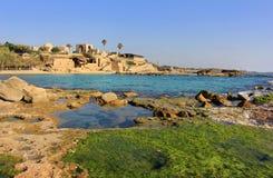 национальный парк Израиля achziv Стоковое Фото