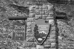 Национальный парк каньона Сион в Юте - ЮТЕ, США - 20-ОЕ МАРТА 2019 стоковая фотография