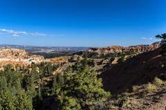 Национальный парк каньона Bryce, один из самых красивых парков в мире стоковая фотография