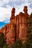 Национальный парк каньона Bryce, Юта, Соединенные Штаты Америки Национальный парк на следе петли навахо стоковая фотография