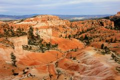 Национальный парк каньона Bryce, Юта, Соединенные Штаты стоковые изображения rf