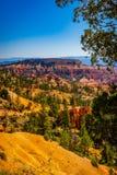 Национальный парк каньона Bryce, Юта, Соединенные Штаты Стоковое Изображение RF