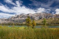национальный парк ландшафта яшмы alberta канадский Стоковые Изображения