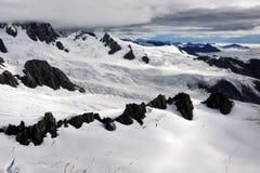 национальный парк ледника лисицы Стоковые Изображения RF