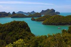 национальный парк морского пехотинца angthong Стоковая Фотография RF