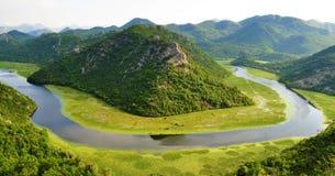 Национальный парк озера Skadar - Черногория стоковые изображения rf