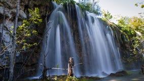 Национальный парк озер Plitvice стоковые фотографии rf