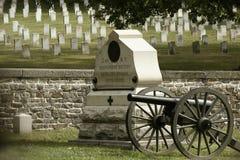 национальный парк Пенсильвания gettysburg воинский Стоковая Фотография RF