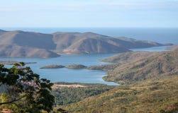 Национальный парк покрытый с лесом Стоковое фото RF
