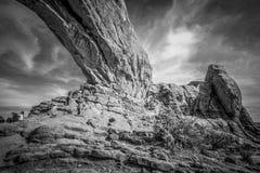 Национальный парк сводов в Юте - ЮТЕ, США - 20-ОЕ МАРТА 2019 стоковая фотография rf