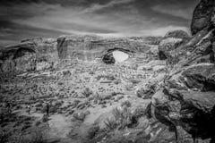 Национальный парк сводов в Юте - ЮТЕ, США - 20-ОЕ МАРТА 2019 стоковые изображения rf
