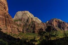 Национальный парк Сион стоковое фото