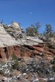Национальный парк Сион, Юта, США Стоковые Изображения