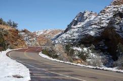Национальный парк Сион, Юта, США Стоковое Изображение
