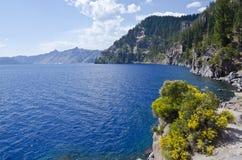 национальный парк США озера кратера стоковое фото rf
