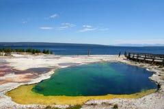 национальный парк США yellowstone Стоковые Изображения RF