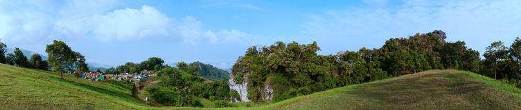 Национальный парк Таиланда Стоковое Изображение