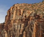 национальный парк трясет zion Юты Стоковая Фотография