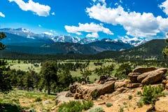 Национальный парк утесистой горы colorado Природа Северной Америки, США Стоковое Фото