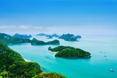 Национальный парк ушивальника Ang Koh Mu Стоковые Фотографии RF